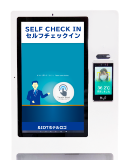 &IoT スマートチェックイン+サーモイン